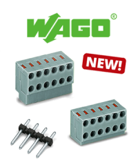 New in the range! The 252 Series PCB terminal blocks ensure flexibility in the building sector