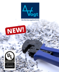 New to our range: Wire end sleeves with UL certificate from Vogt