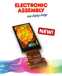 New in the range: The smallest color display in the world