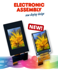 New to our range: Small TFT color displays for brilliant pictures