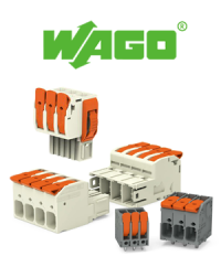 One look, one click - PCB terminal blocks with lever from WAGO
