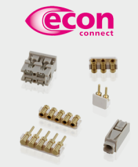 For efficient lighting: The LED connectors from econ connect