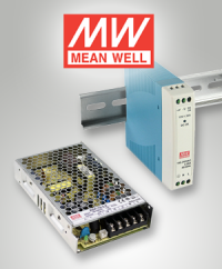 Power for DIN rail and enclosure: The MDR and RSP series from Mean Well