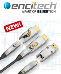HighEnd Performance over long distances: The new FibreOptic multimedia cables from encitech