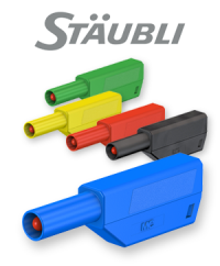 Stäubli SLS425-SE series: The stackable solution for self-assembly of test leads
