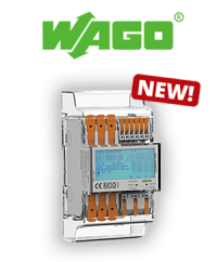 Optimize energy consumption: The new energy consumption meters from WAGO