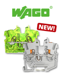 Convenient conductor connection in confined spaces: The new WAGO TOPJOB® S mini terminal blocks.