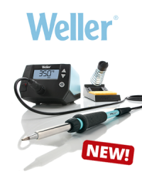 New to the range: Weller WE Line - The most powerful soldering station in its class