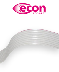 Perfect for insulation displacement connections: The ribbon cables from econ connect